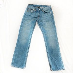 True Religion Straight With Flap Jeans 33